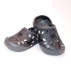 Marvel Black Panther Slip On Glow In Dark Shoes